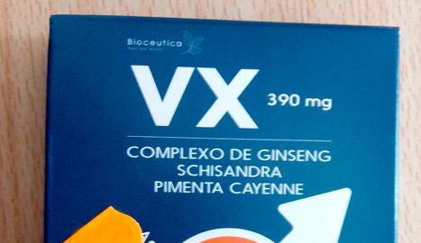 Retiren un complement alimentari en contenir el principi actiu de la Viagra