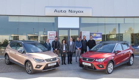 L'acte va tenir lloc a les instal·lacions del servei oficial Auto Nayox.
