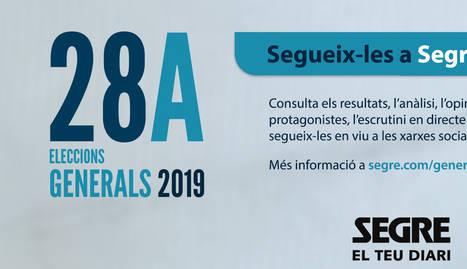 Tota la informació de les Eleccions Generals, a SEGRE