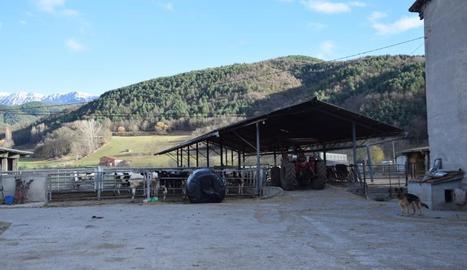 Una de les granges de la Seu que han estat inspeccionades.
