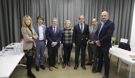 El comitè de pera i poma de Fepex es va reunir ahir a la seu d'Afrucat a Lleida.