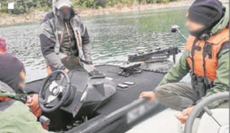 Denunciats dos pescadors a l'Urgell i la Noguera