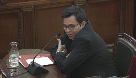 Gerardo Pisarello, primer teniente de alcalde del Ayuntamiento de Barcelona.