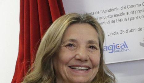 David Casals-Roma, Fèlix Larrosa, Isona Passola, Miquel Aran i Gina Domingo, ahir al Magical.
