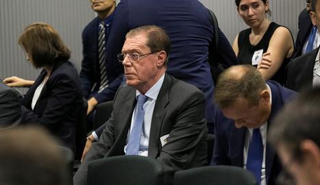 L'exconseller delegat de Banc de València Domingo Parra.