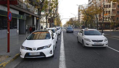 L'atracador va agafar un dels taxis a la parada de Prat de la Riba amb Ricard Viñes.