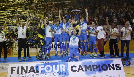 El Lleida Llista, nou campió d'Europa.