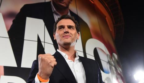 El líder de Ciutadans, Albert Rivera, en una imatge d'arxiu