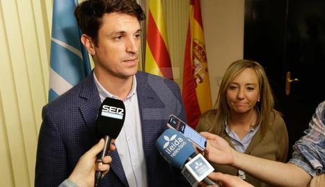 Decepció a la seu del PP de Lleida