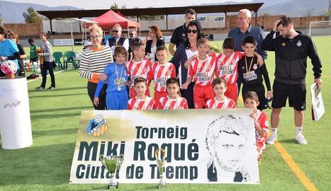 El Girona guanya el trofeu Miki Roqué