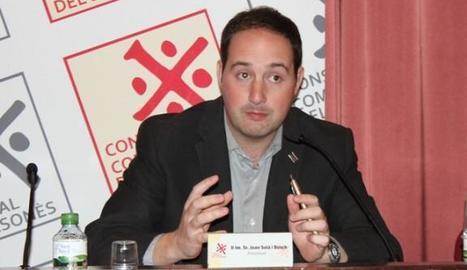 Joan Solà, alcalde de Riner.