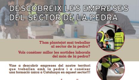 El Consell Comarcal de les Garrigues organitza visites gratuïtes per donar a conèixer el sector de la pedra
