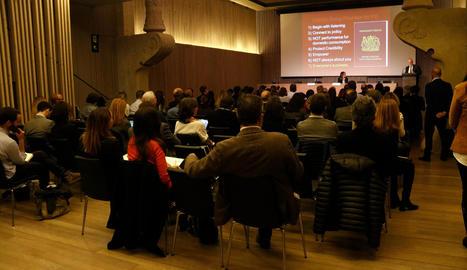 El Diplocat va celebrar ahir a Barcelona el primer acte públic després de l'aplicació del 155.
