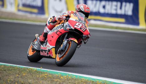 Quartararo desbanca Márquez i es converteix en el 'poleman' més jove de MotoGP