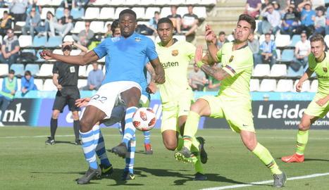 El Lleida s'acomiada del play off