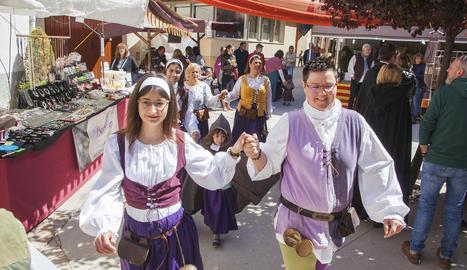 Un dels actes celebrats ahir a Ciutadilla.