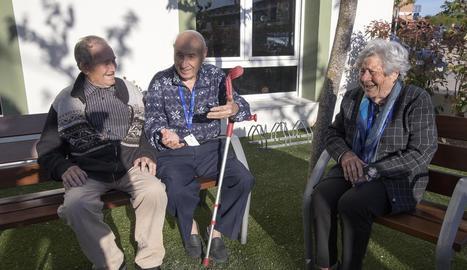 Jubilats de Guissona, on hi ha 498 pensionistes i 3.464 afiliats a la Seguretat Social.