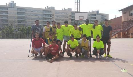 El Torre Vicens va celebrar el triomf sobre el Ronda.