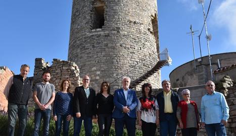 ERC es presenta a 18 municipis de la Segarra