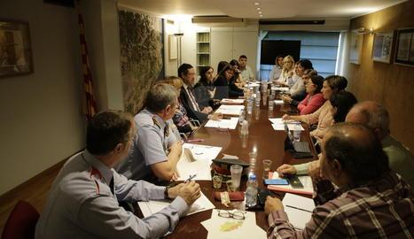 La Taula institucional per a l'abordatge de la violència masclista a Lleida.