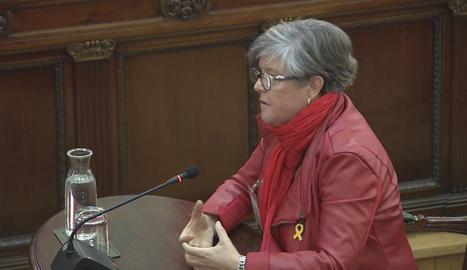 Virgínia Martínez ha explicat al Suprem que un agent li va dir