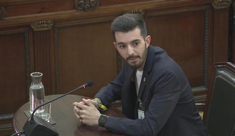 Joan Porras, més conegut com a Joan BonaNit, ahir al Suprem.