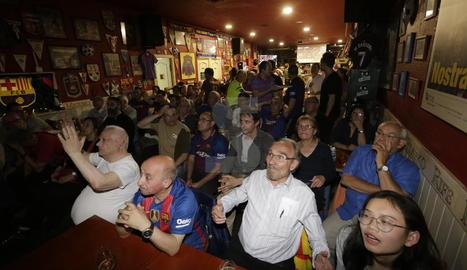L'afició barcelonista de Lleida va haver de cancel·lar la festa