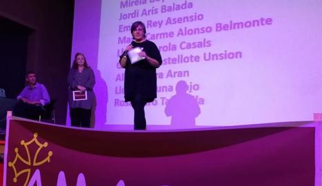 La presentació ahir de les candidatures d'Amassa.