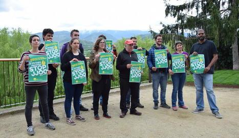 Les formacions independentistes van presentar ahir la campanya ahir al parc del Cadí de la Seu.