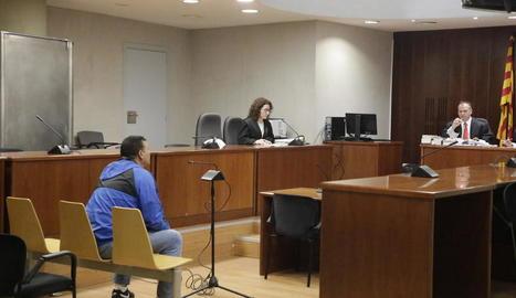 El judici es va celebrar ahir a l'Audiència de Lleida.