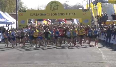 Cursa de Bombers a Lleida TV