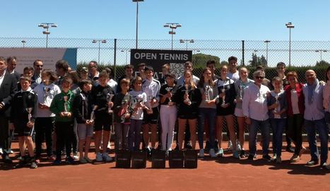 El CT Lleida corona els campions de l'Open Prat Llongueras