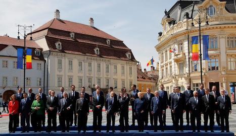 Els líders europeus exhibeixen unitat per afrontar futurs reptes