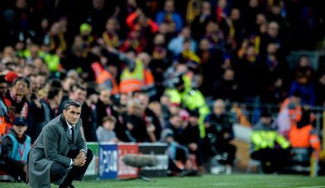 Ernesto Valverde va quedar assenyalat després de la desfeta.