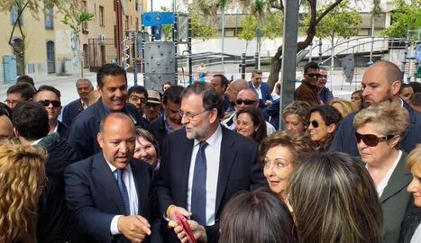 Rajoy va rebre ahir un bany de multituds a Zamora, governada per IU.
