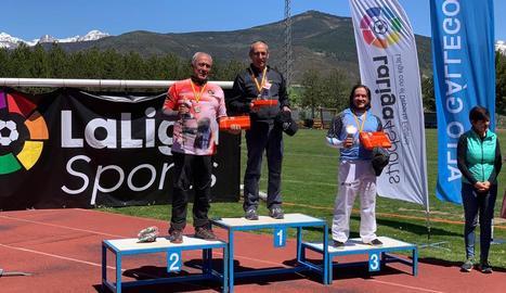 Plata per a José Gómez al GP de Sabiñánigo de tir amb arc