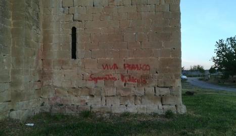 """Atac """"ultra"""" contra el monestir de Santa Maria de les Franqueses de Balaguer"""