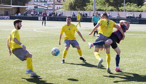 El Tàrrega va caure derrotat a casa davant del Júpiter en el pitjor partit de la temporada per als homes dirigits per Edu Berrocal.
