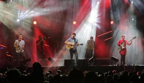 La BSUM, en el concert de festa major.