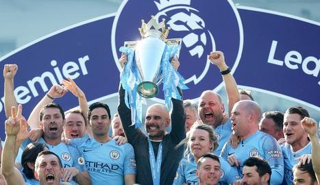 Segona lliga seguida de Guardiola al capdavant del Manchester City