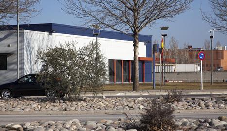La comissaria dels Mossos d'Esquadra a Tàrrega.