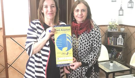 Maylos Pons i Marimén Gratal, organitzadores del certamen.