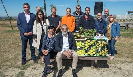 Una vintena de productors estrenen la marca Horta de Lleida