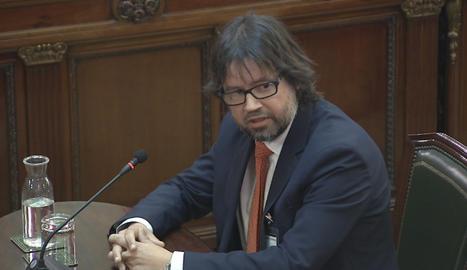 L'exsecretari d'Infraestructures i expresident de Ports de la Generalitat, Ricard Font.