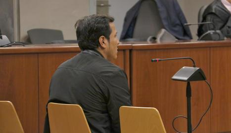 L'acusat, a l'Audiència de Lleida.