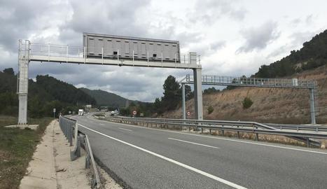 A les carreteres lleidatanes hi ha quatre radars de tram.