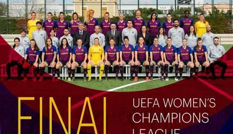 Balaguer instal·la una pantalla gegant per veure la final de 'Champions' del Barça femení