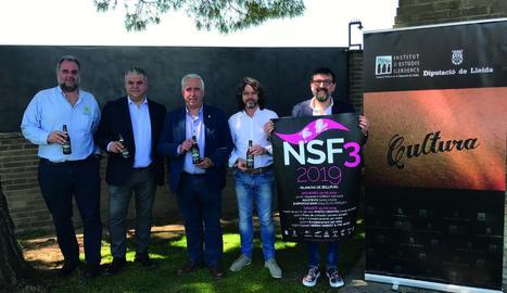 L'acte de presentació de la tercera edició del No Surrender Festival