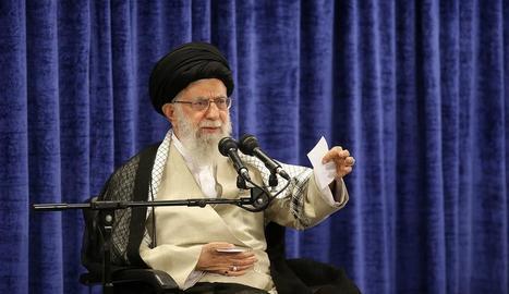 Fotografia cedida per l'oficina del líder suprem de l'Iran, Ali Khamenei.
