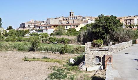 Imatge del municipi de Tarroja.